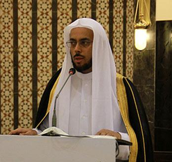 مدير إدارة شؤون المساجد بمؤسسة الطيار الخيرية
